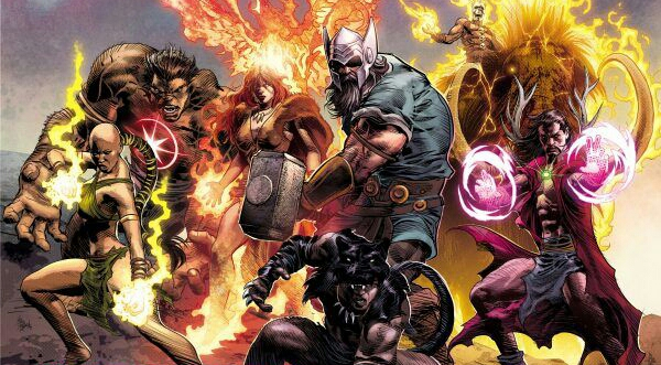 1,000,000 BC Avengers Assemble In Marvel: Legacy #1 First Look.