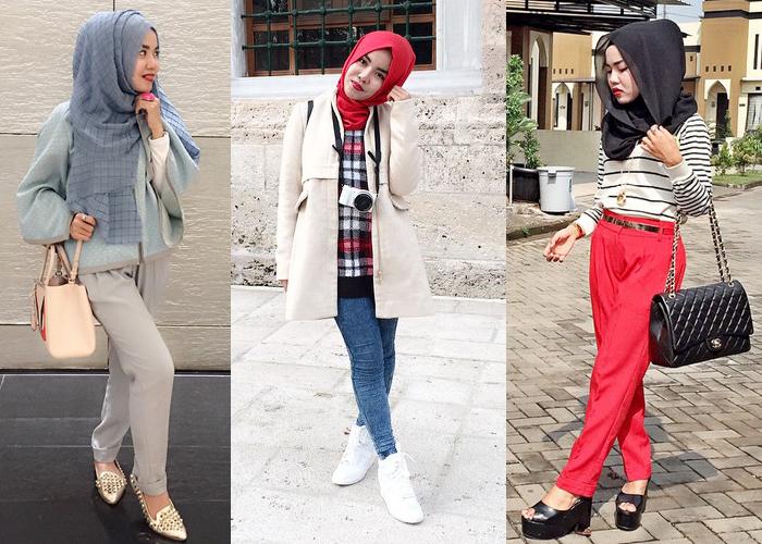 Inspirasi Tutorial Memakai Hijab Modern Kekinian 2016 Antara Post