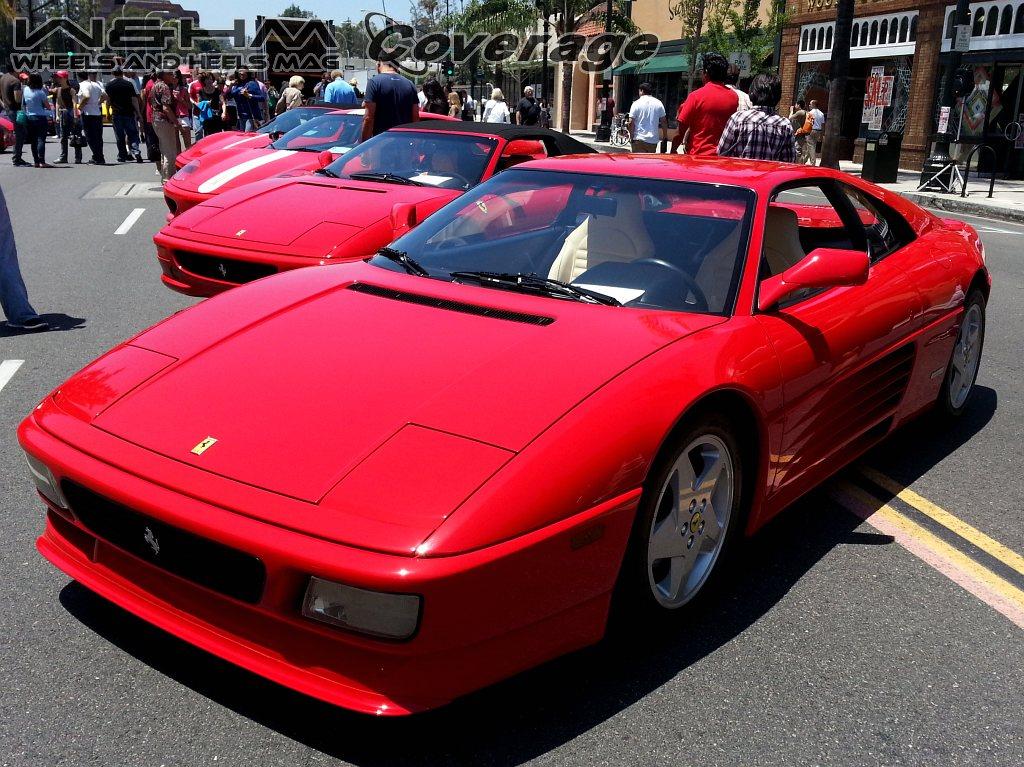 2013 Concorso Ferrari Pasadena Car Showcase