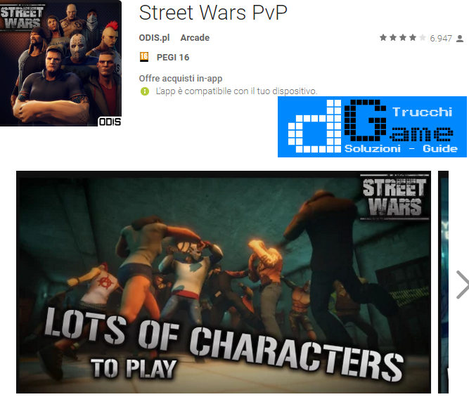 Trucchi Street Wars PvP Mod Apk Android v1.21