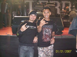 Cecen Core & Denni 'Cranium' Arman di Konser Terror di Medan