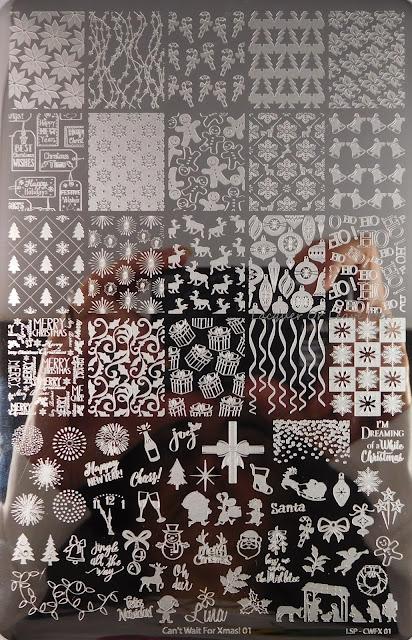 Lina Nail Art Supplies Can't Wait For Xmas!