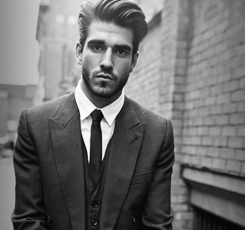 model rambut klasik pria