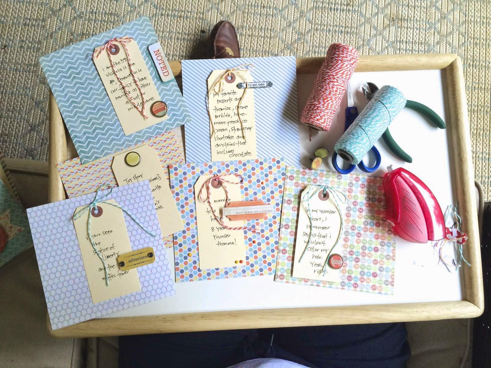 #mini album #scrapbooking #paper pads  #baker's twine