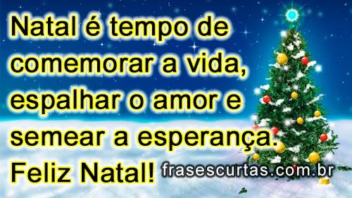 Frases Curtas Natalinas