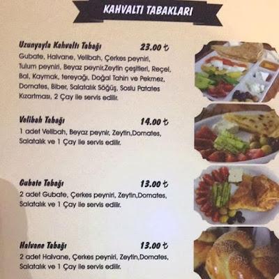 gubate restaurant kayseri menu