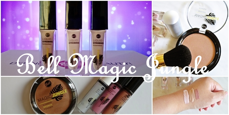 Bell Magic Jungle- rozświetlacz, puder i pomadka