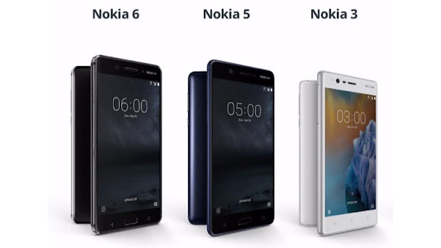 Nokia 6, Nokia 5, and Nokia 3 to Launch in India Today
