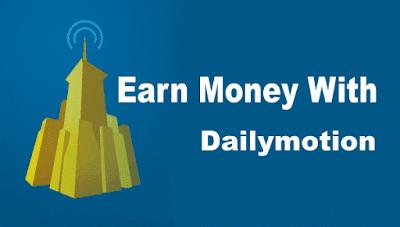Cara Mendapatkan Uang Dari Dailymotion Terbaru 2016/2017