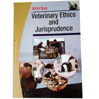 Veterinary Ethics And Jurisprudence By Kirtu Dua N6000