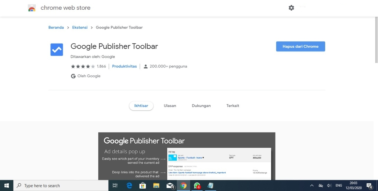 Toolbar Google Publisher Dihapus, Adsense Bakal Invalid Klik?