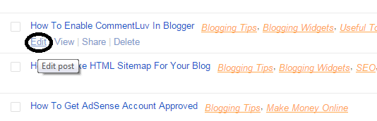 How To Find Post ID In Blogger