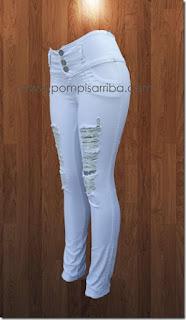 Tiendas de pantalones colombianos pantalon de mezclilla para dama