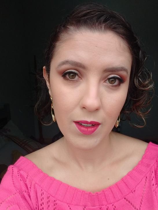 Maquiagem Glamour - Fácil