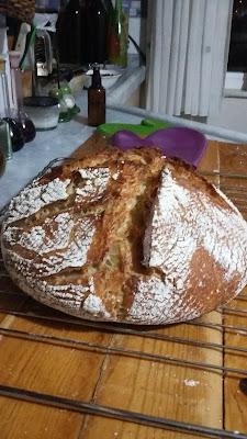 20160103 213745 - Baştan Sona;''Bir Ekmek Yapmak'' (Bu Kez Çavdar Unu Kullanarak)