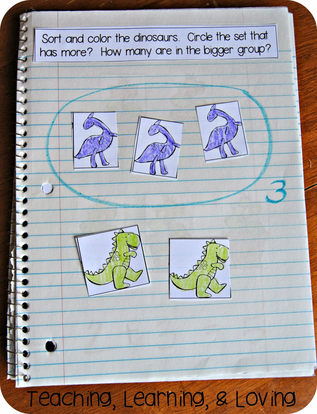 Teaching Learning Amp Loving Interactive Math Journals For Pre K