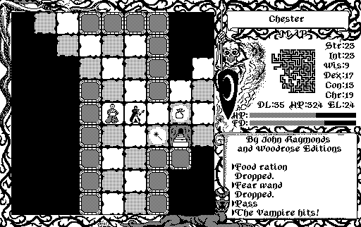 The CRPG Addict: Game 254: The Dungeon Revealed (1987)