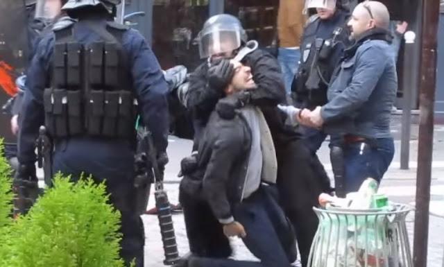 """Résultat de recherche d'images pour """"benalla violences"""""""