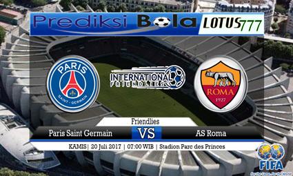 Prediksi Pertandingan antara Paris Saint Germain vs AS Roma Tanggal 20 Juli 2017