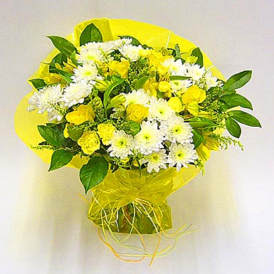 yellow flowers bouquet - Mobile wallpapers