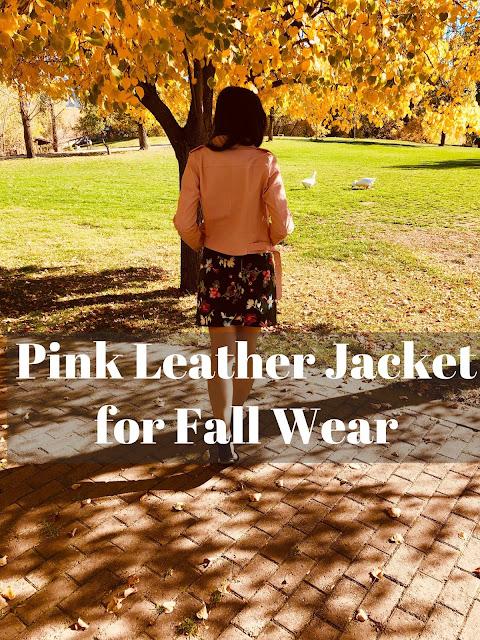 pink leather jacket, amiclubwear,