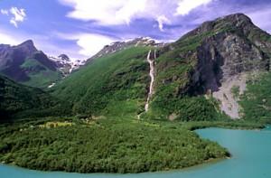 gambar air terjuan Balifosse-Norwegia