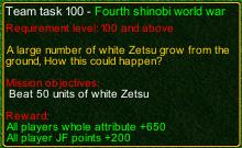 naruto castle defense Fourth shinobi world war task detail