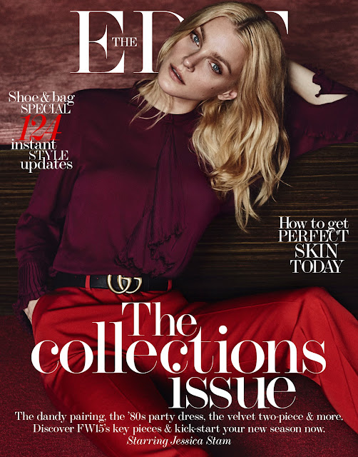 Fashion Model @ Jessica Stam for The Edit Magazine 2015