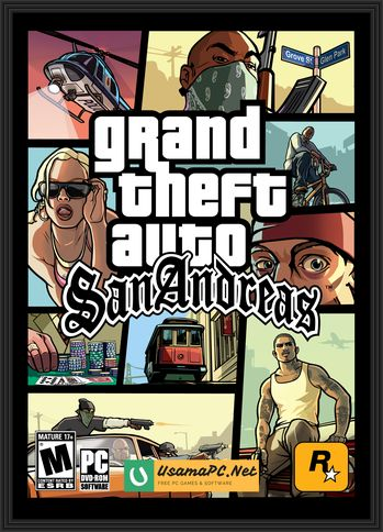 GTA San Andreas Cover Art