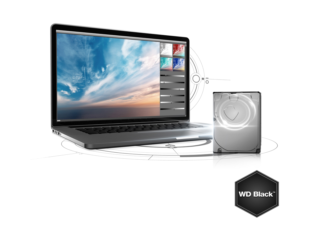 WD Black hard drive