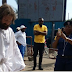 A Man Who Looks Like Jesus Spotted Yesterday In Lagos, Literally Disappeared After Some Moment