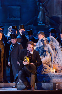 Ludovic Tezier - Donizetti's Lucia di Lammermoor - Royal Opera House  photo ROH/Stephen Cummiskey
