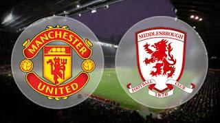 Prediksi Manchester United vs Middlesbrough Sabtu 31 Desember 2016 Pkl. 22.00 WIB.