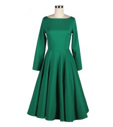 http://www.rosegal.com/vintage-dresses/vintage-boat-neck-flouncing-long-52900.html