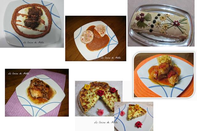 6 platos, que es dificil elegir  el mejor