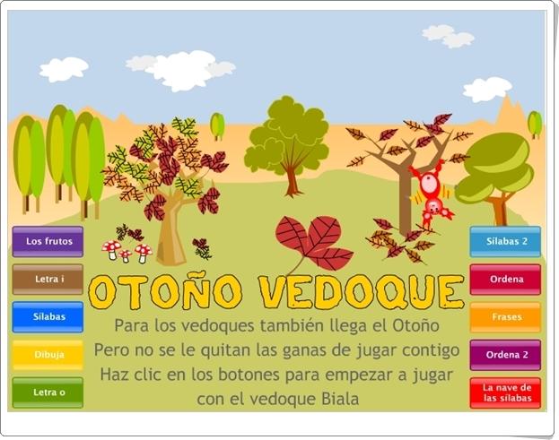 """Otoño Vedoque"" (Actividades interactivas de Educación Infantil)"