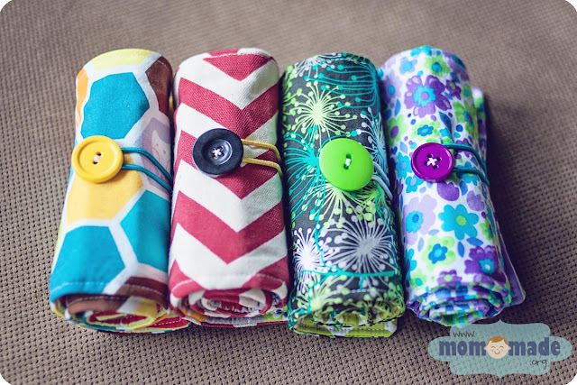Crayon Rolls on Sale at Mom-Made
