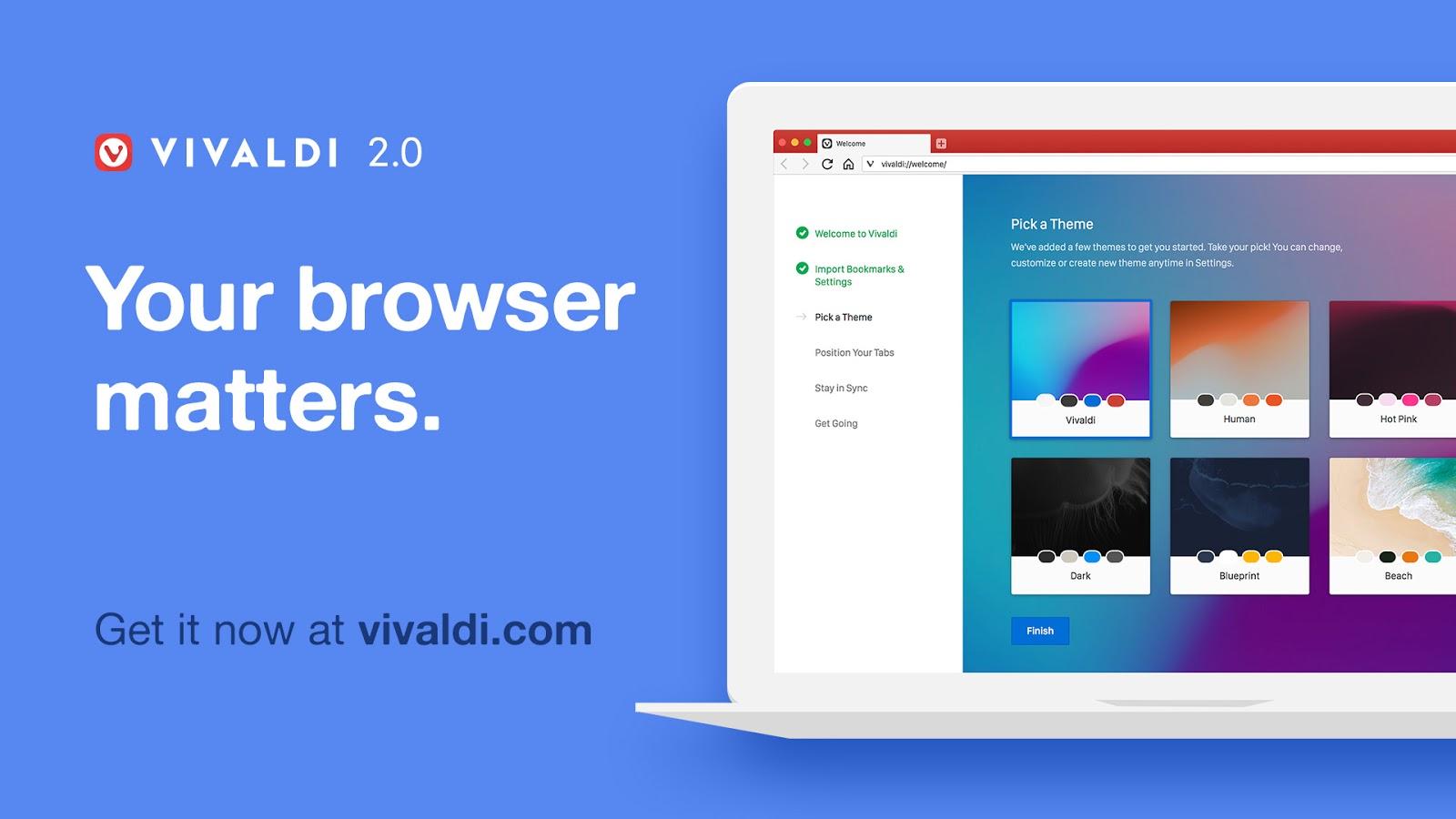 Vivaldi 2 0 Release, Install on Ubuntu 18 04/16 04 and Linux