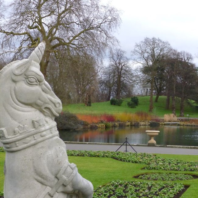 The View from the Palm House, Kew Gardens