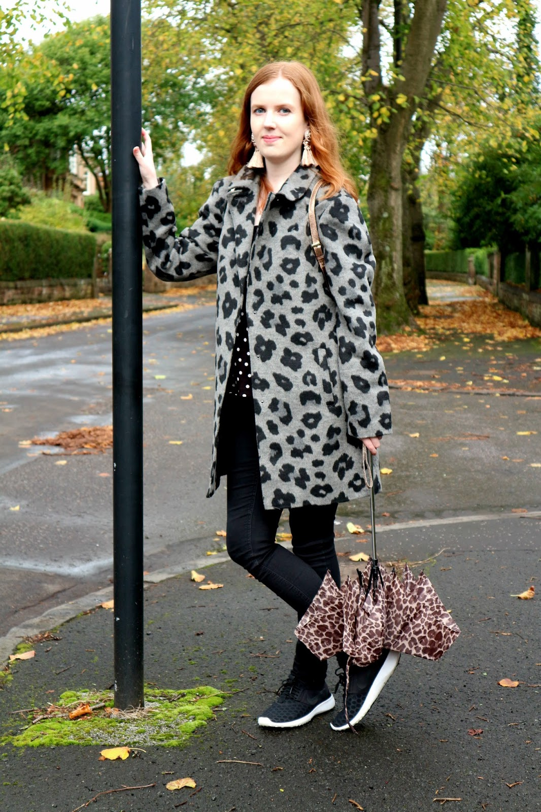 leopard print coat 2017 uk