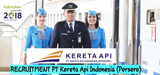 Lowongan Kerja PT Kereta Api Indonesia (Persero) Agustus 2017 (Fresh Graduate/ Berpengalaman)