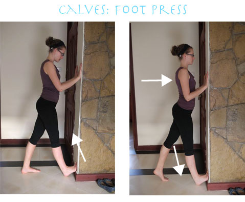 yoga gypsy simple stretches for ankles and calves
