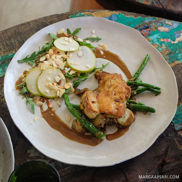 Grilled Chicken La Brisa Beach Club, Canggu Bali