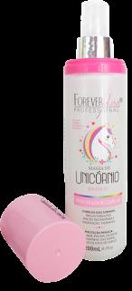 Resenha Magia de Unicórnio - Spray Bifásico Capilar da Forever Liss (Liberado para Low Poo)
