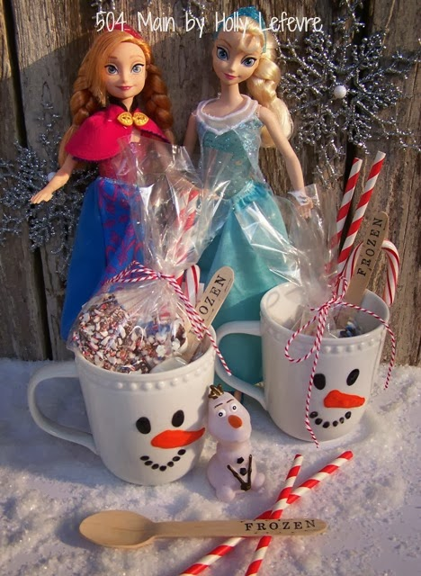 #FrozenFun and Snowman Hot Cocoa by 504 Main #shop #cbias