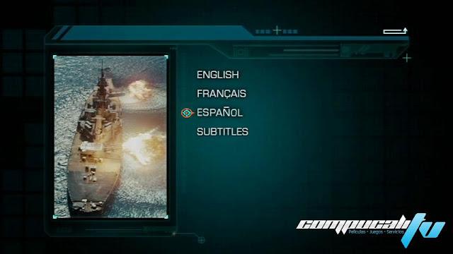 Battleship Batalla Naval DVDR NTSC Full Español Latino 2012
