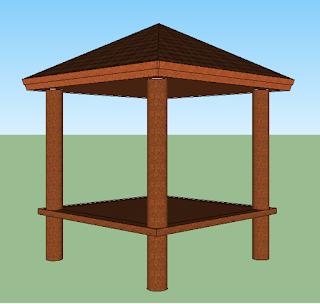 Tips Pembuatan Gazebo Rumah