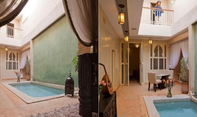 Riad con encanto en Marruecos