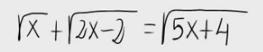 36. Ecuación irracional 8