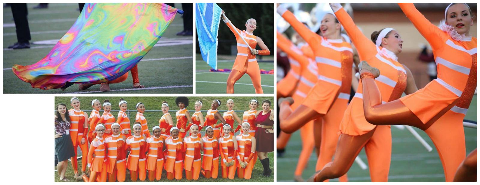 #BandShoppeLove Oak Ridge HS Color Guard